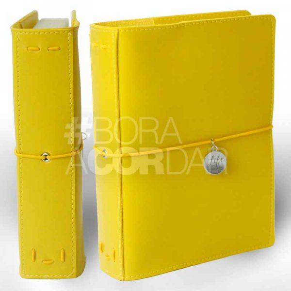 Capa Life Planner Amarela