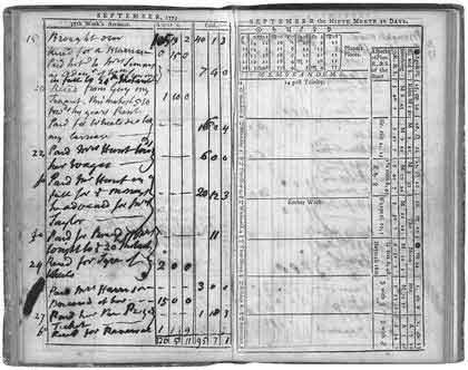 America's first daily planner REPRODUÇÃO: BOSTON GLOBE/ARQUIVO PESSOAL DE MOLLY MCCARTHY